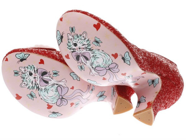 irregular choice pink kitten soles aw17