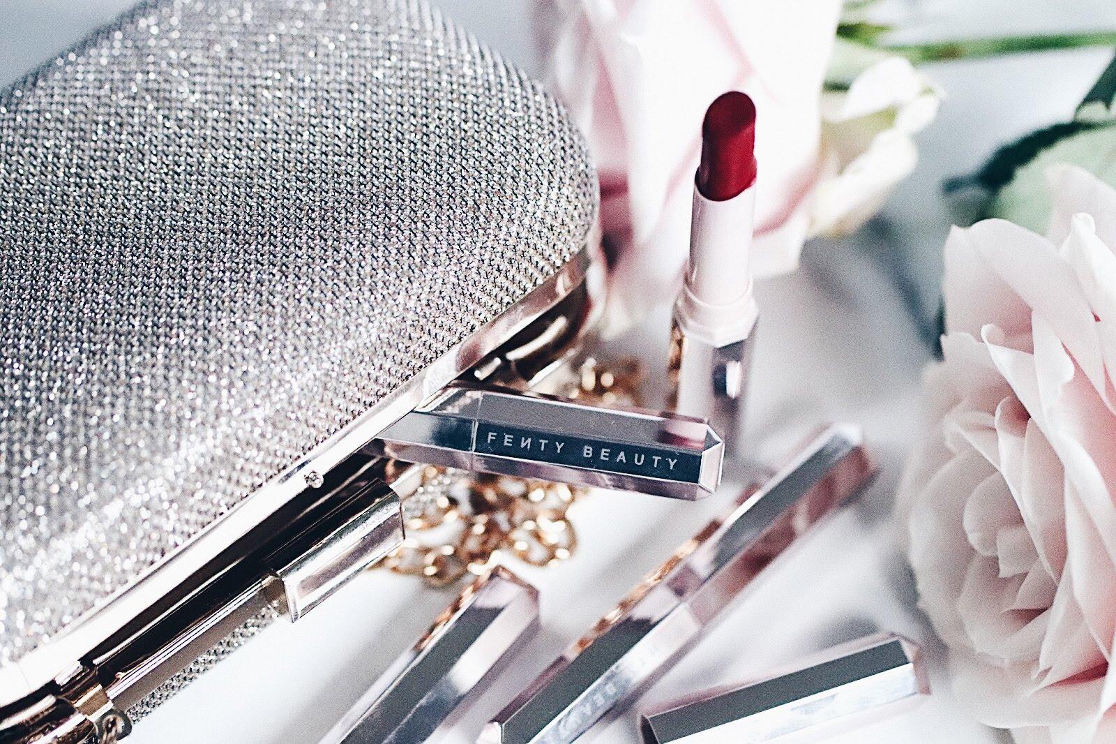 fenty beauty by rihanna mattemoiselle rouge à lèvres mat avis test swatches