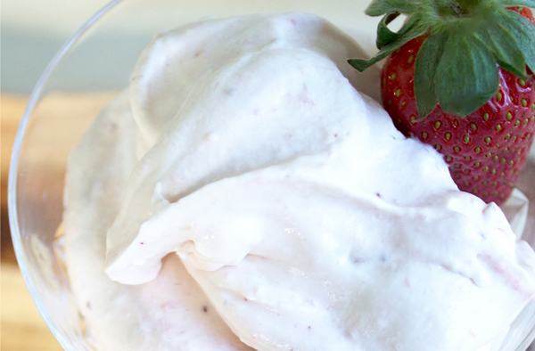 Strawberry & Rosewater Fool - Flavor Ideas by Eliza Ellis