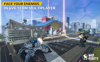 War Robot Mod APK Vip For Free  - Wasildragon.web.id