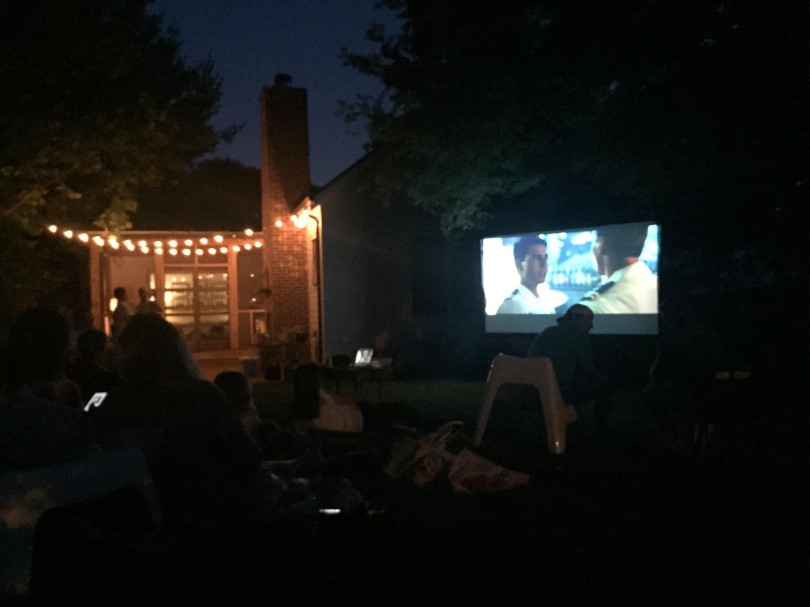 it u0027s me margaret host an outdoor movie night