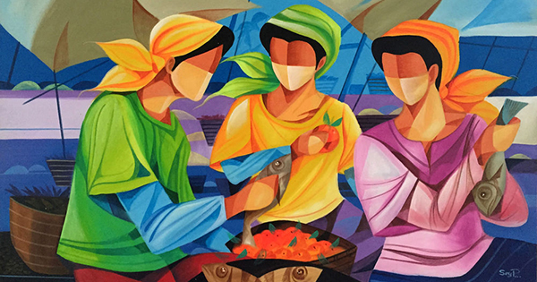 """Fish Vendors"" by Sey Perez from Pampanga, Philippines"