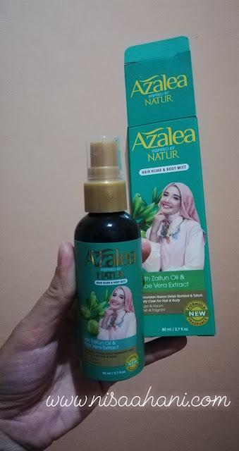 Azalea Hair Mist