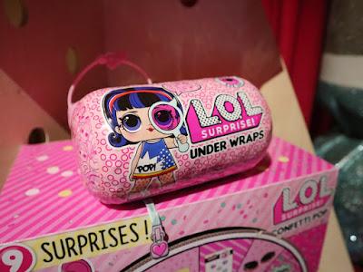 Розовая капсула с новой большой куколкой LOL Surprise MGA 4 серия