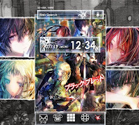 4 - Black Bullet Plus Home Theme for Android