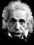 A photo of Albert Einstein