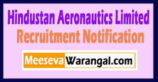 HAL Hindustan Aeronautics Limited Recruitment Notification 2017  Last Date 15-05-2017