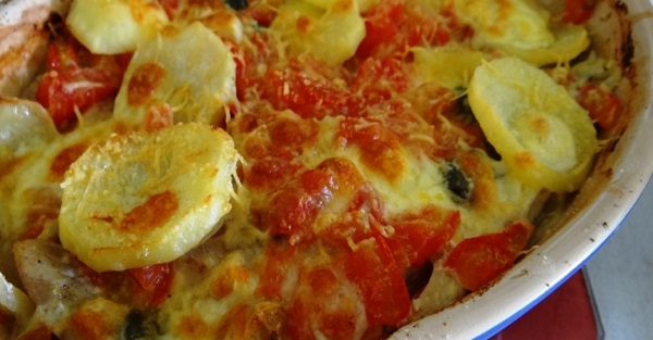 Filé de Merluza ao Forno com Batatas (Imagem: Reprodução/Modo de Preparo)
