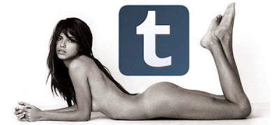 ragazza nuda sotto icona di facebook