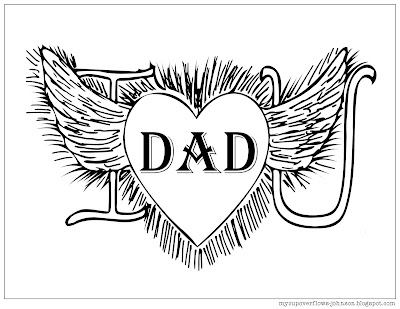 free Father's day coloring pages to print