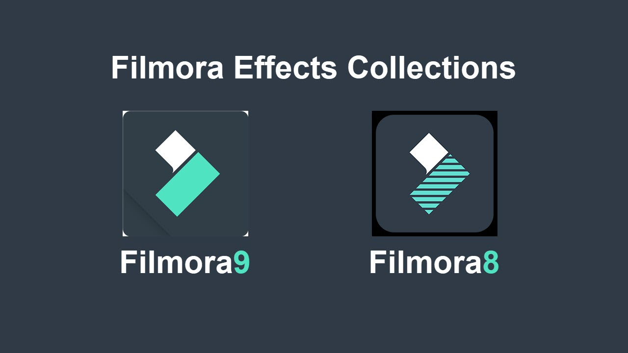 Filmora Effects Collections for Filmora9 + Filmora8