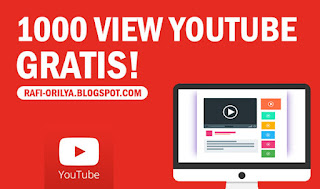 Cara Mudah Mendapatkan 1000 View Youtube Gratis dengan Cepat 2018