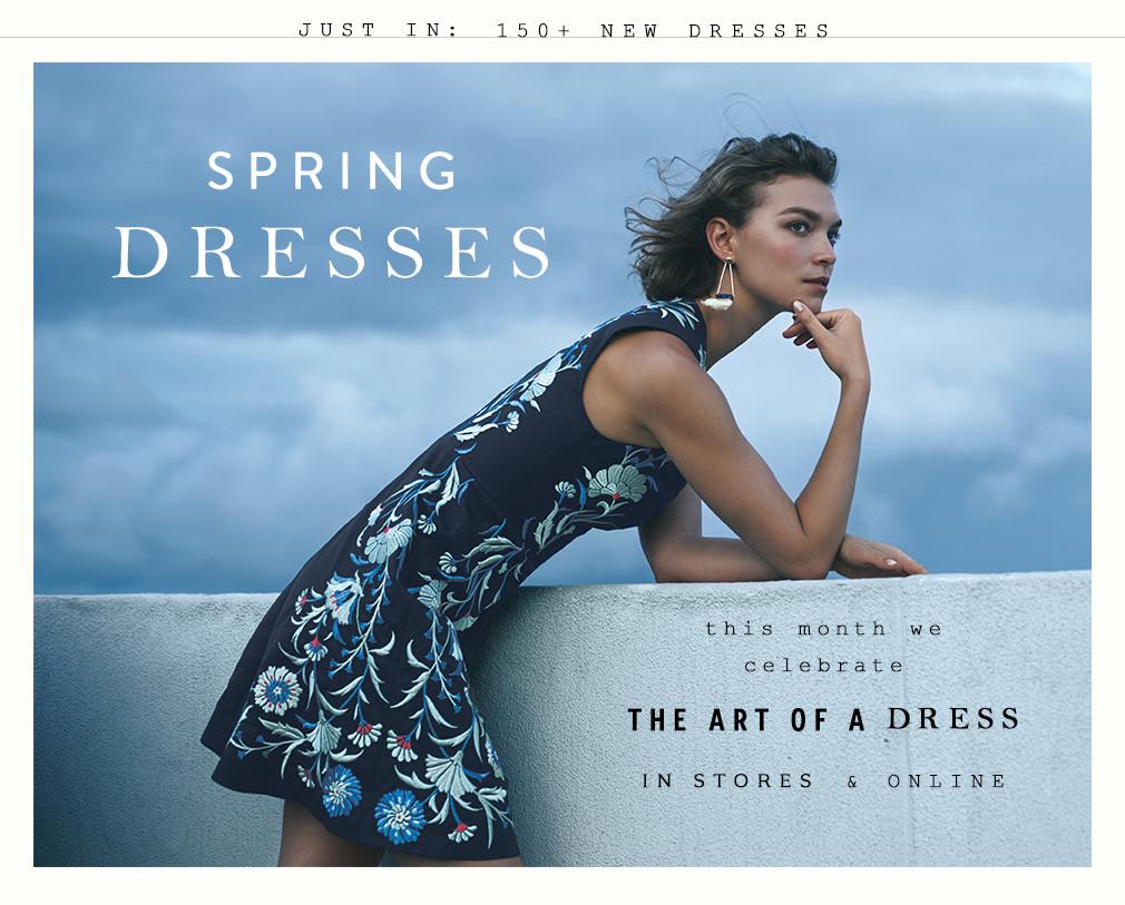 Anthropologie Spring Dresses