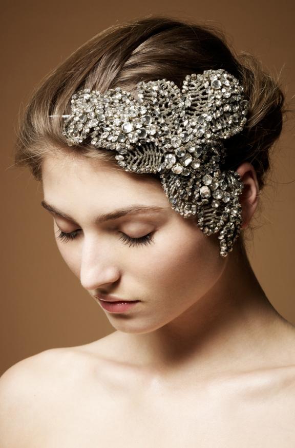 Hair Accessories Head Pieces Wedding Flower White