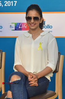 Actress Rakul Preet Singh at Endometriosis Awareness Walk at Apollo Cradle  0077.jpg