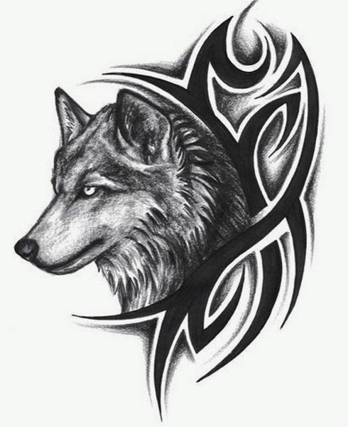 The Best Tribal Wolf Tattoos Gallery 2 Tattoo Designs Picture