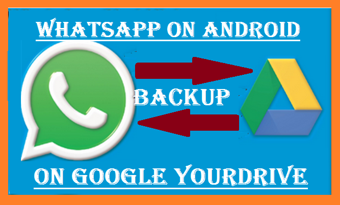 WhatsApp conversations backup