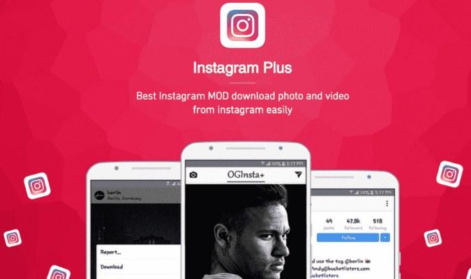 Aplikasi MOD Instagram Terbaik untuk Android - Instagram Plus