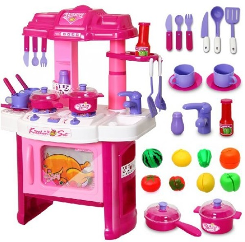 set dapur anak, kitchen set, kitchen toys, education toys, educational toys, anak belajar memasak, kitchen playset murah