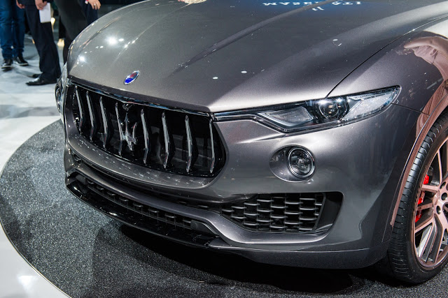 Maserati Levante S SUV Close up look
