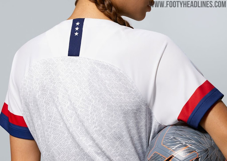 d5888b447 USA 2019 Women s World Cup Home Kit Released - Footy Headlines