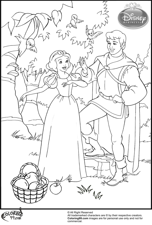 princce coloring pages - photo#21
