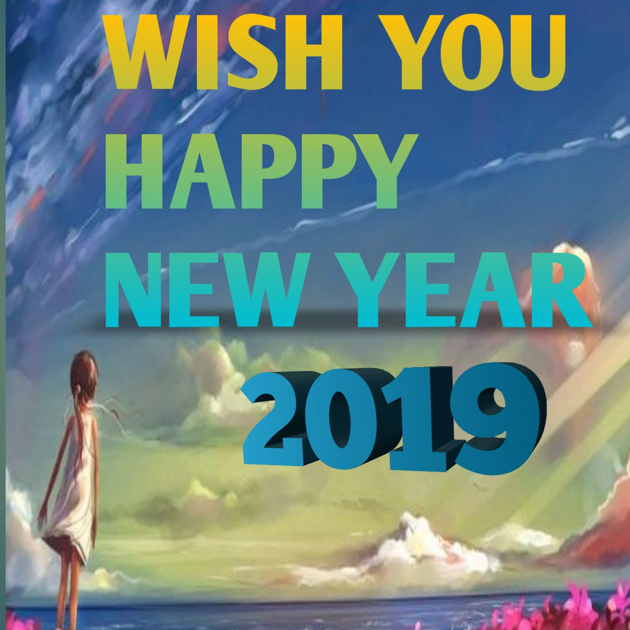 Happy New Year 2019 Wishes Images Messages Quotes Status Lovers