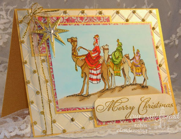 Our Daily Bread Design, Christmas Mini Set, We Three Kings, Splendorous Star, Shining Star, Christmas Collection 2014, Designed by Robin Clendenning