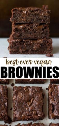 Best Ever Vegan Brownies Recipe