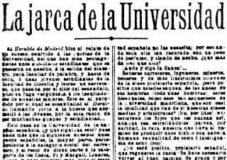 Fragmento del texto publicado en El Progreso