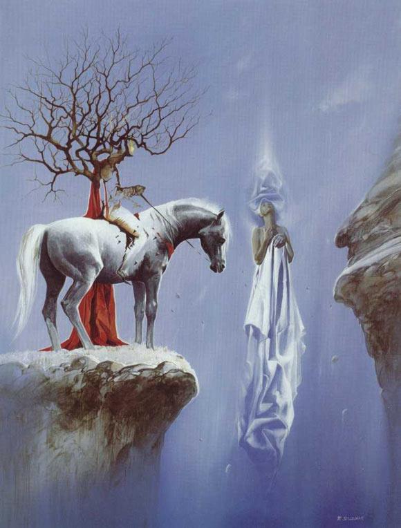 Arte surrealista  y caballo