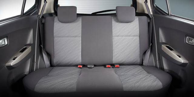 Toyota Wigo Rear Seats