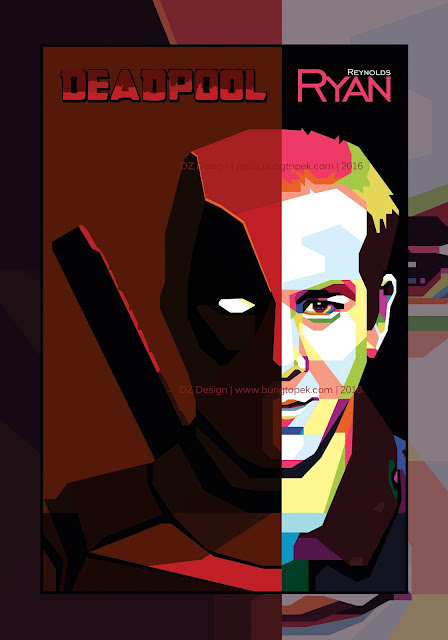 WPAP DEADPOOL - Ryan Reynolds