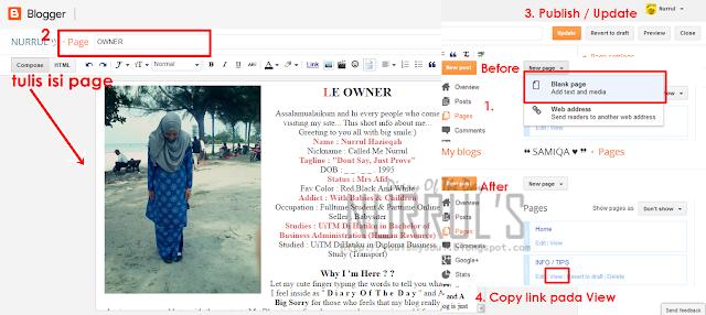 make link pages