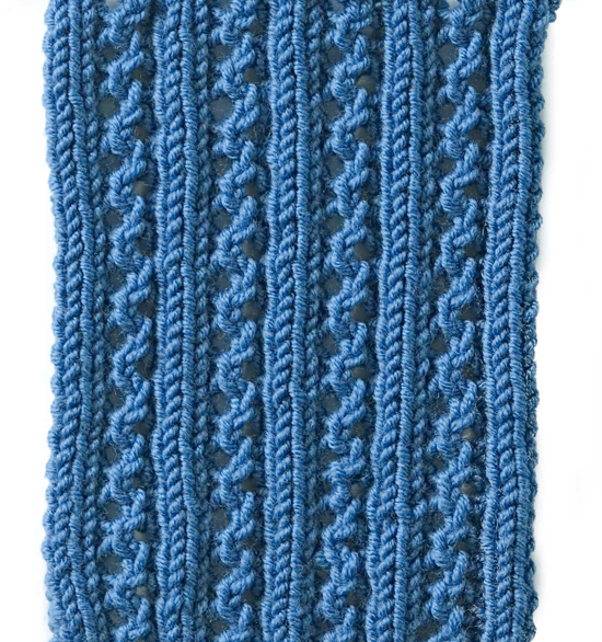 Rib Patterns Knitting : Lana creations My knitting work, knit project and free patterns catalogue