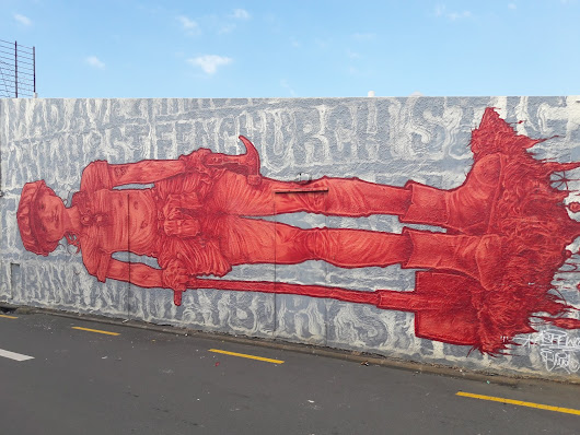 The Street Art of Glen Innes, Auckland - Bradley Lane