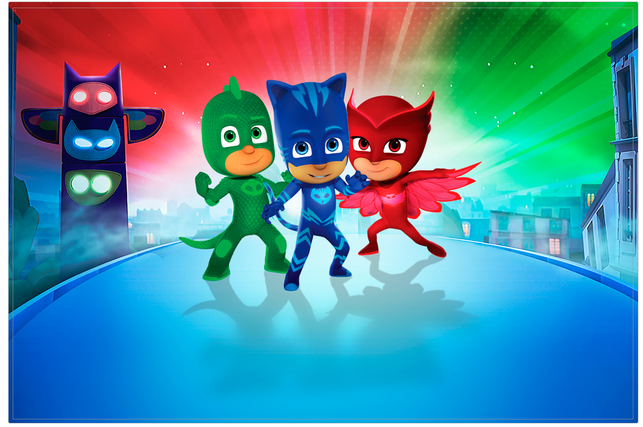This is a picture of Agile Pj Mask Template
