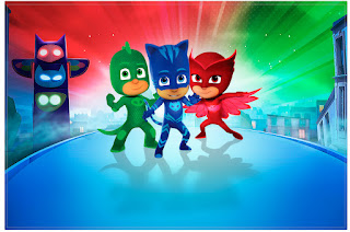 PJ Masks Free Printable Invitations Labels Or Cards