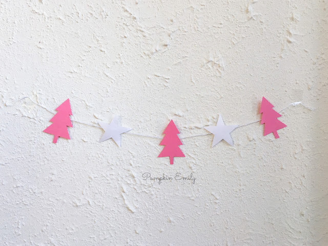 DIY Star and Tree Banner