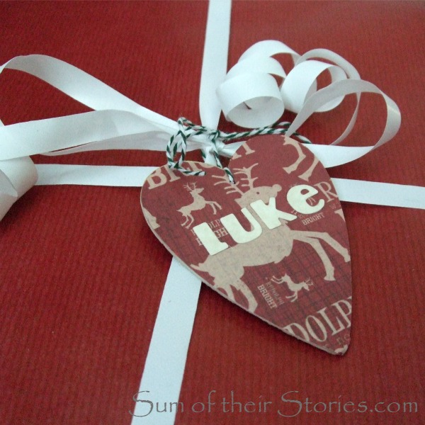 wooden gift tags keepsakes