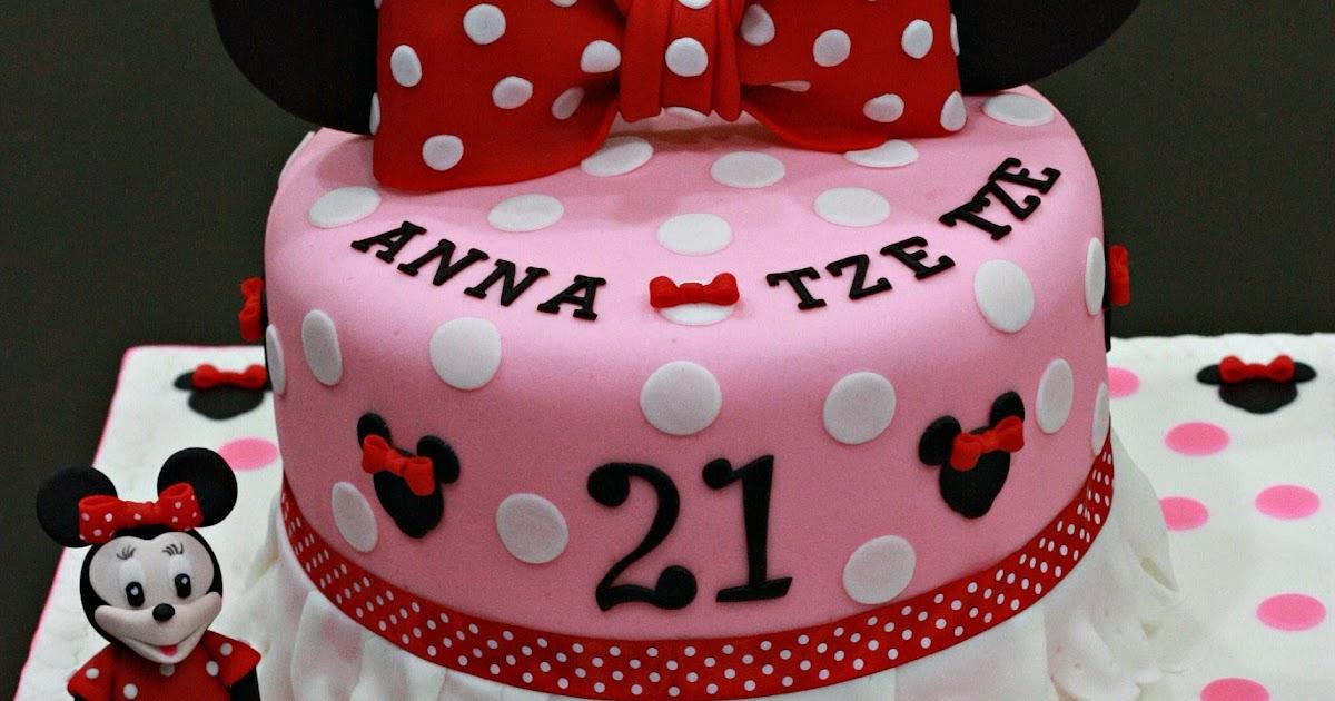 Sheny S Homemade Treats Minnie Mouse Themed 21st Birthday