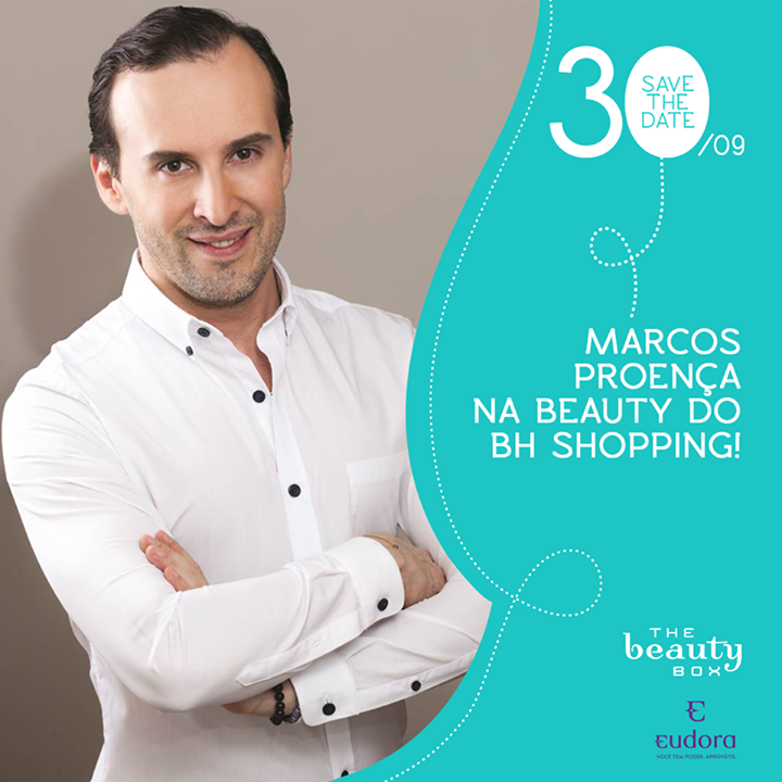 Marcos Proença na The Beauty Box