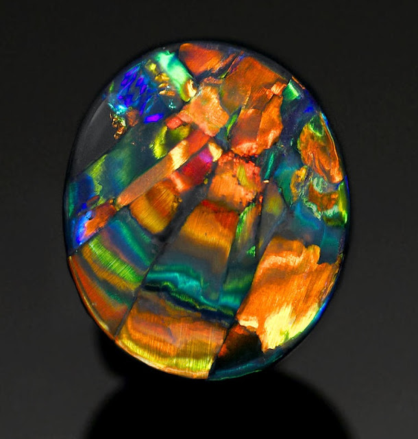 Harlequin Opal: The Rarest and Most Expensive Pattern of Opal