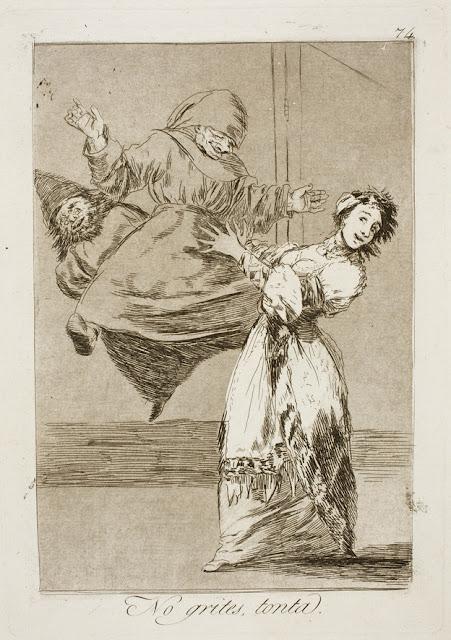 Goya - No grites, tonta / Μην ουρλιάζεις, χαζούλα / Don't scream, silly