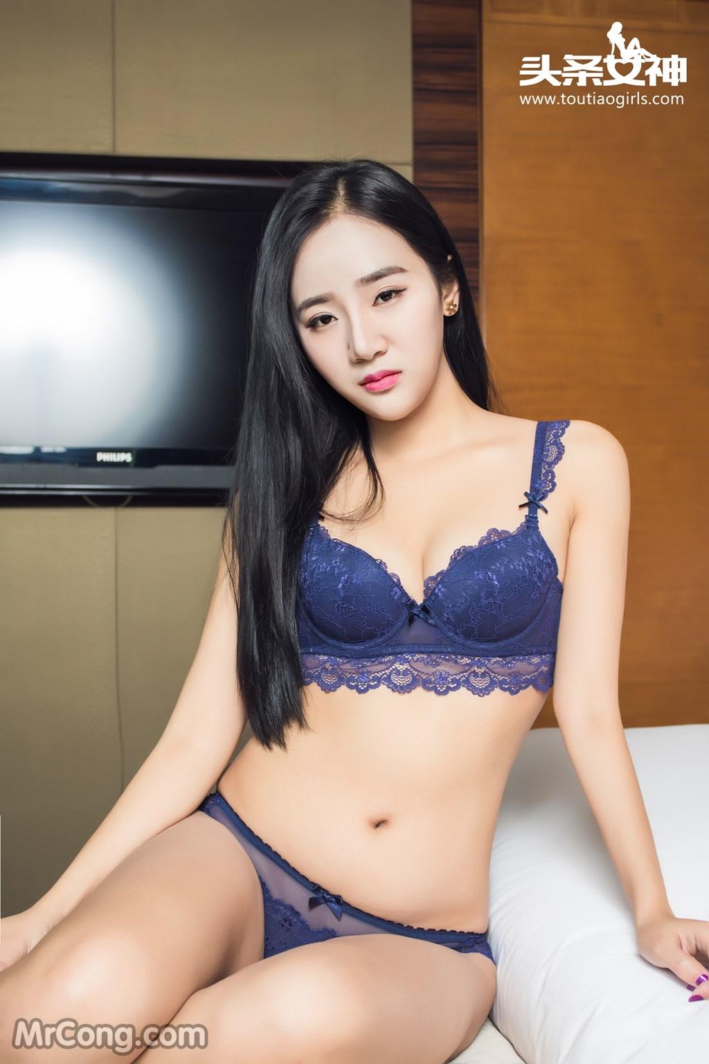 Image MrCong.com-TouTiao-2016-12-28-Zhou-Ling-002 in post TouTiao 2016-12-28: Người mẫu Zhou Ling (周凌) (26 ảnh)