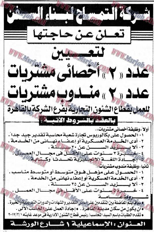 وظائف شركة التمساح لبناء السفن للمؤهلات العليا والتقديم حتى 10 / 3  / 2017