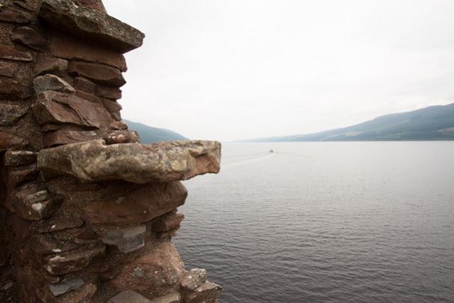 Loch Ness e Urquart castle