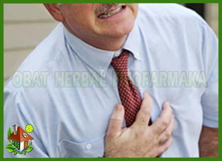 serangan jantung, dada berdebar, keluar keringat dingin, dada sakit
