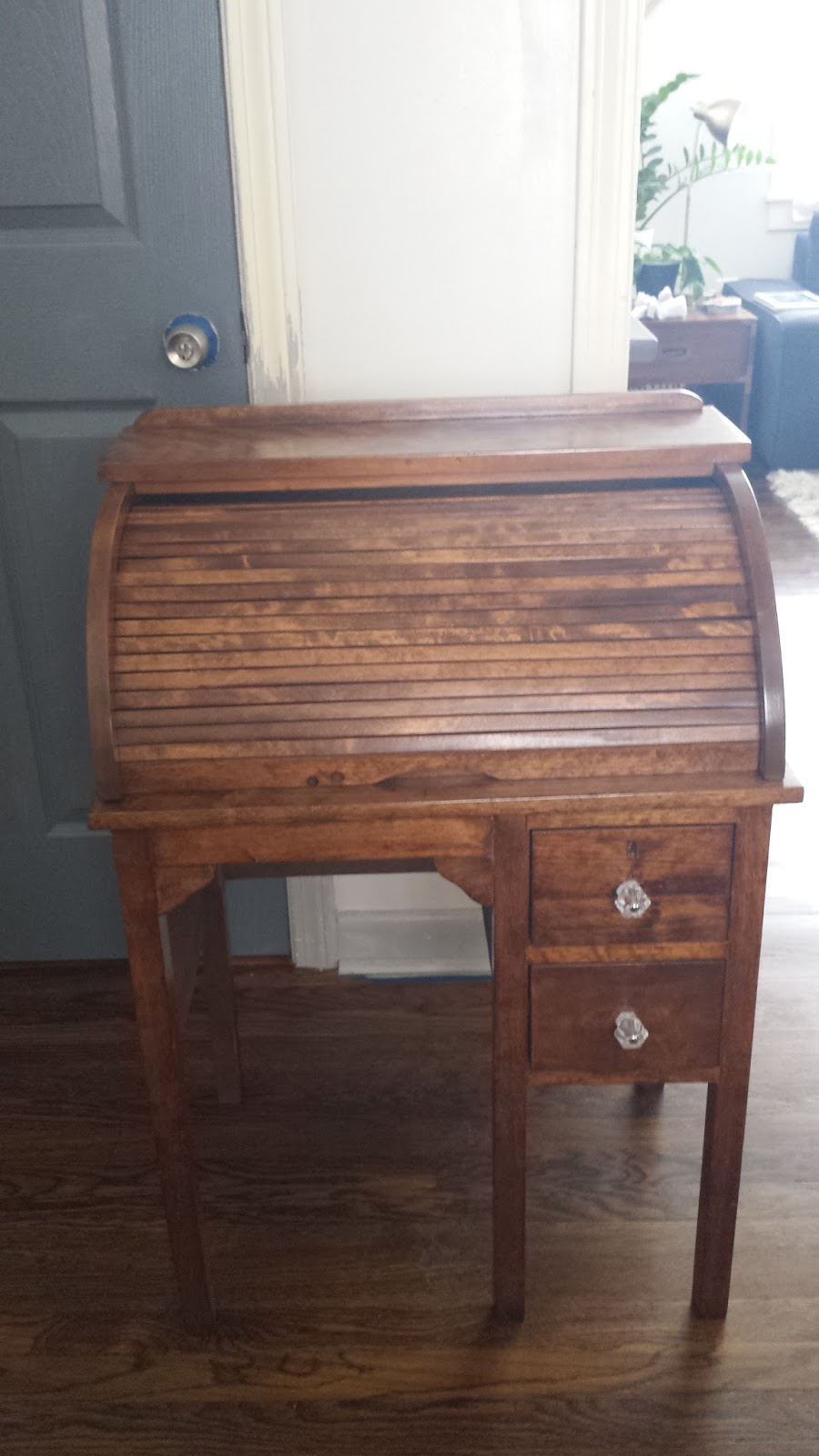 Lilly S Home Designs Refinished Roll Top Desk