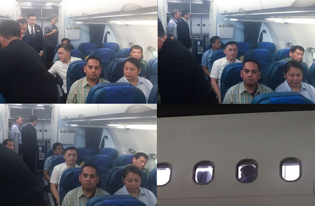 President Duterte Takes Commercial Plane and Was Seen Seated at the Last Row! He's Not Just a Simple Man, He's Also a Great Leader!